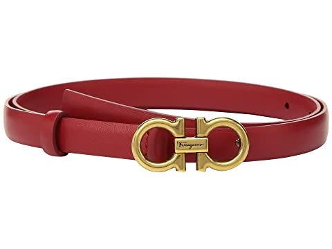 Salvatore Ferragamo Gancini Large Logo Belt