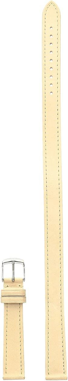 16mm Leather Double Wrap Strap Beige