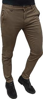 Evoga Pantaloni Uomo Sartoriali Class Invernali in Cotone