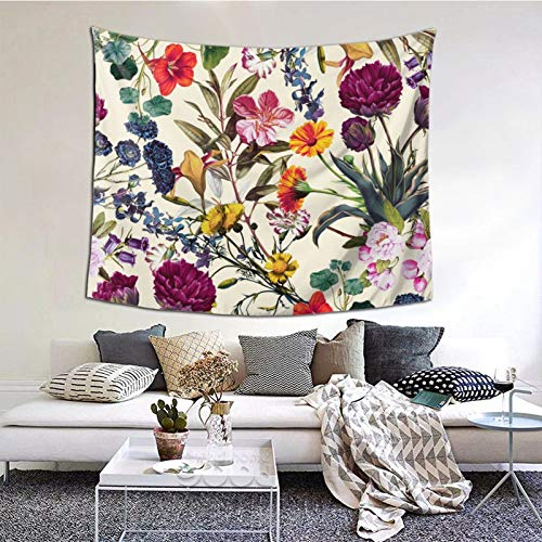 Perfect household goods Macigal Garden Tapestry Wall Art Hanging Home Living Room Bedroom Decor 60 * 51inch