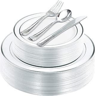 plates utensils