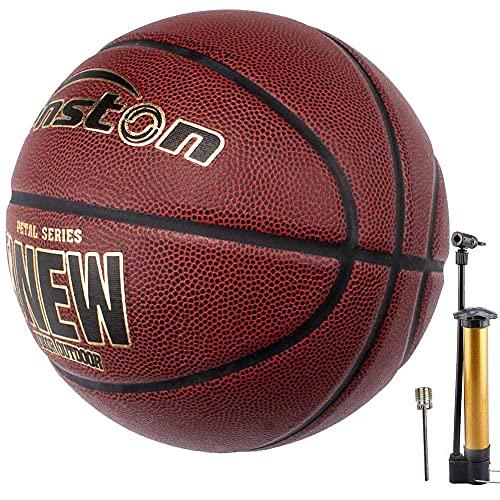 Senston Interior/Exterior Balon Baloncesto Adulto/Juventud Tamaño 7 Balon de Baloncesto