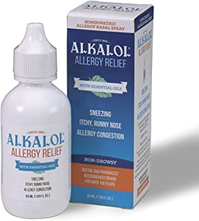 Alkalol Allergy Relief Nasal Spray, 50 ml