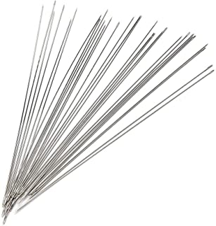 ARRICRAFT 10pcs Big Eye Beading Needles Threading String Cord Pins Hand Tools for DIY Jewellry Making 7.5cm Long