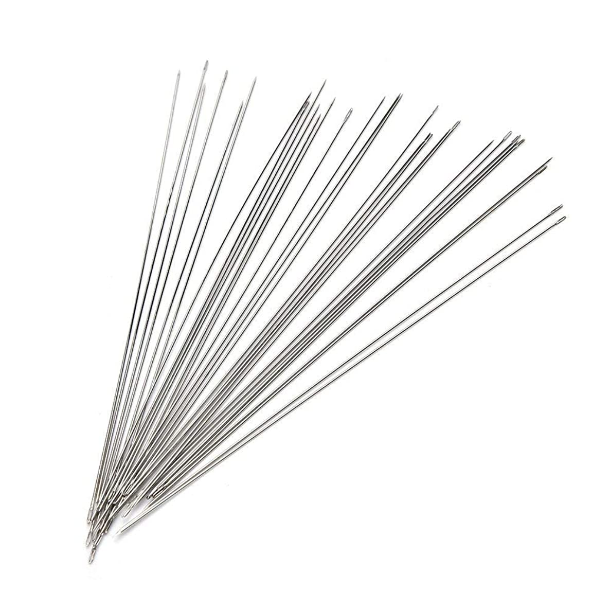150Pcs Beading Needles Threading String Cord Pins Hand Tools for DIY Jewellry Making(4.72inch)