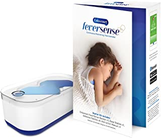 Enfasmart Feversense Continuous Monitoring Digital Thermometer - Wireless, Bluetooth, Smart Alerts - iPhone & Android Compatible