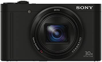 Sony Cyber-shot DSC-WX500 Digital Camera (Black) Bundle [Japan Import]
