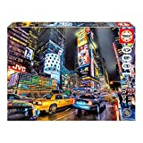 Educa Borras - Genuine Puzzles, Puzzle 1.000 piezas, Times Square, Nueva York (15525)