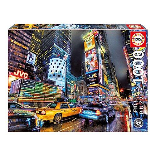 Educa - Times Square, Nueva York Puzzle, 1000 Piezas, Multicolor (15525)