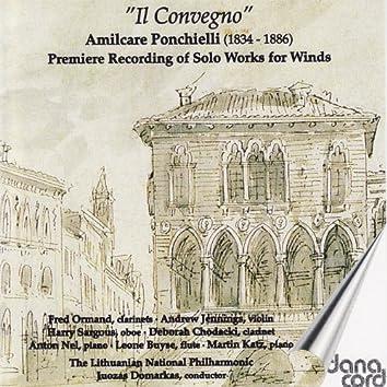 Amilcare Ponchielli: Solo Works for Winds