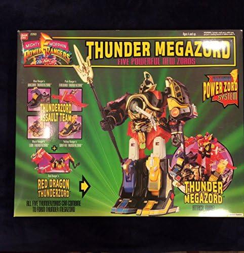 Power Rangers Deluxe Thunder Megazord product image
