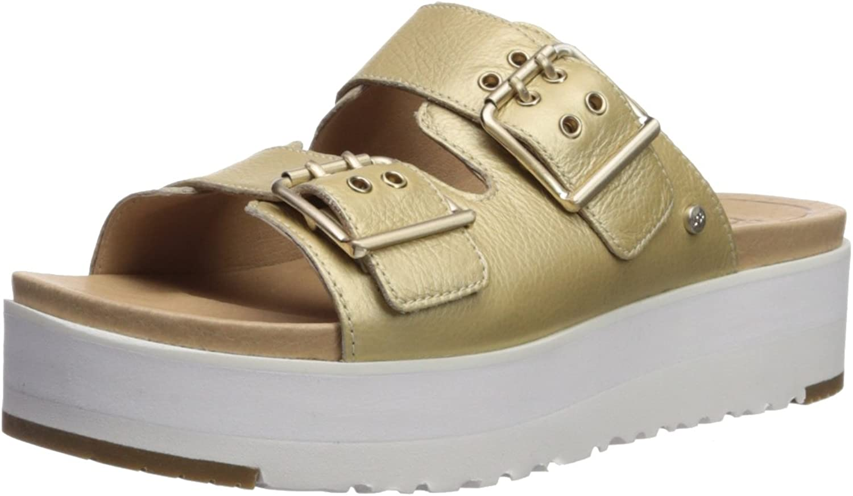 Schuhe Schuhe Cammie Sandalen Leder Gold Damen 40 Gold  exklusive Designs