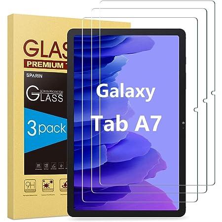 SPARIN 3 Stück Panzerglas kompatibel mit Samsung Galaxy Tab A7 10.4 2020, Schutzfolie für Samsung Tab A7 mit Einfache Installation, Kratzfest
