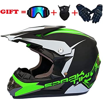 Amazon.es: SSIC-Full Face - Casco para bicicleta de montaña con ...