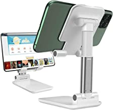 Cell Phone Stand, JR INTL Angle Height Adjustable Cell Phones Stand for Desk,Fully Foldable Phone Holder Stamd,Cradle,Dock...