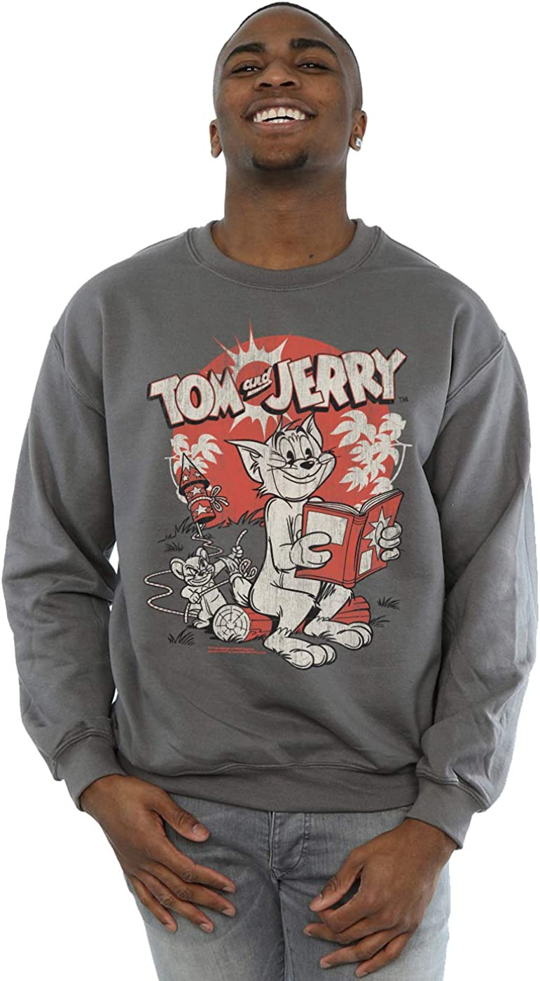 Tom And Jerry Men's Rocket Prank Sweatshirt