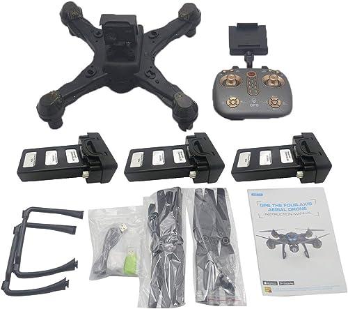comprar marca JohnJohnsen LH-X38G Drone Dual GPS WiFi FPV Drone con con con videocamera 4K Remote Control Helicopter RC Drone Professional Drone w   3  Batterie gris  tienda en linea