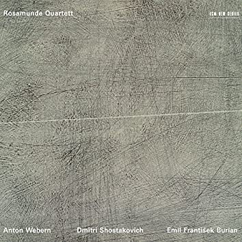 Anton Webern - Dmitri Shostakovich - Emil Frantisek Burian