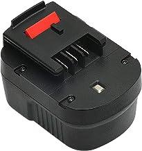 Advtronics 12V 3.0Ah NiMH Reemplace Batería para Black & Decker A12 HPB12 A12E A12-XJ A12EX FSB12 FS120B FS120BX A1712 B-8315 BD-1204L BD1204L BPT1047
