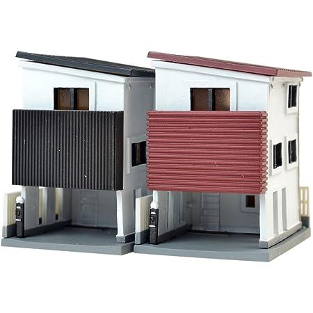 建物コレクション 建コレ017-4 狭小住宅 B4 片流れ屋根 ジオラマ用品
