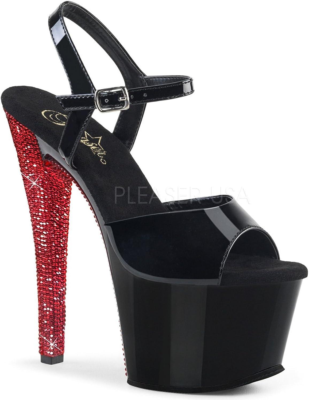Pleaser Womens SKY-309CHRS B B-RRS Sandals