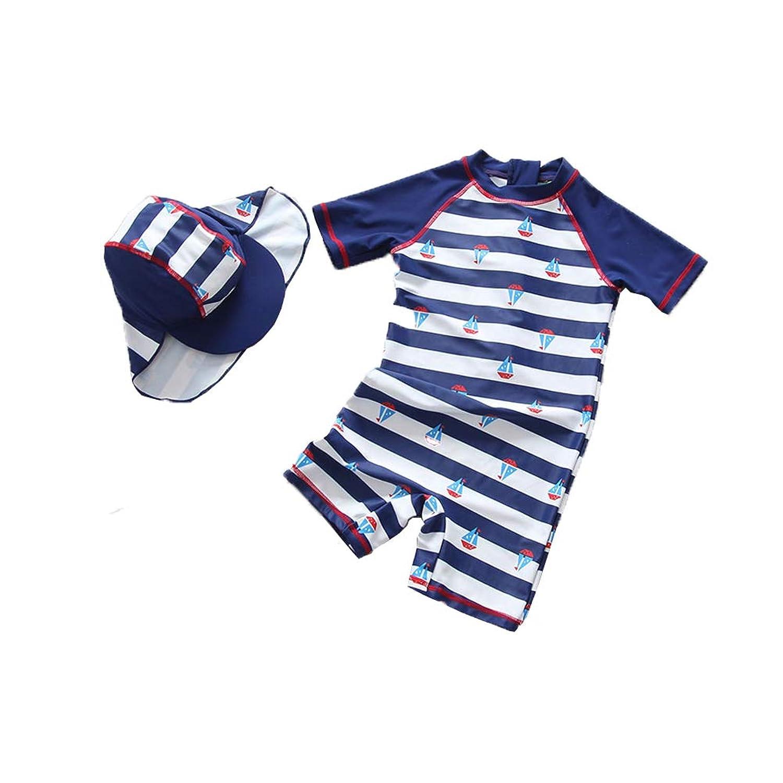 Baby Boy 'Rash Guard Shirtsワンピース水着ノベルティ水着夏用衣装男の子ラッシュガードシャツアスレチック水着
