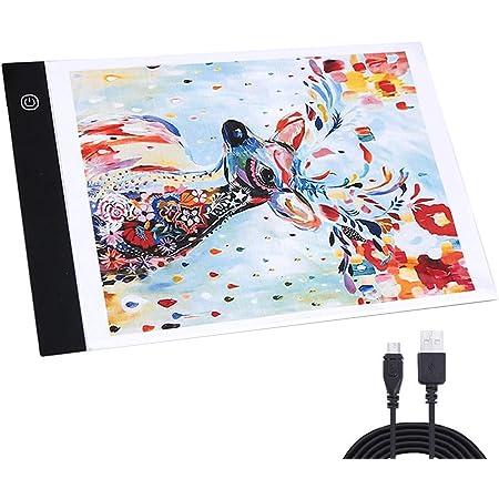A4 LED Light Box Tracer USB Power Adjustable LED Light Tablet Board Pad for 5D DIY Diamond Painting