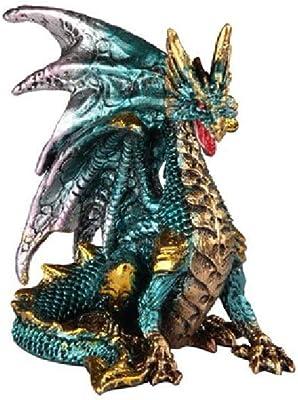 GSC 71678 3.75 Inch Dragon Figurine Blue