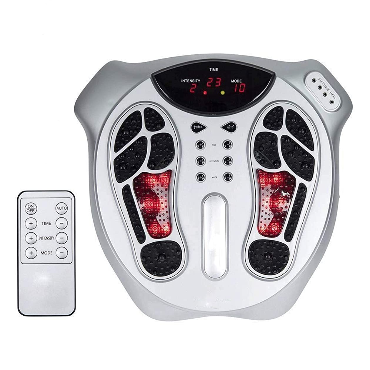 愛受信機インシデントLLRYN 足循環刺激装置-足と足のための電気神経筋肉刺激-神経障害性糖尿病性けいれんのための電気パルス足マッサージ機