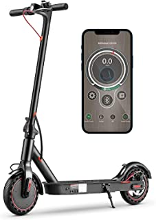 iSinwheel i9 Electric Scooter for Adults, Max Speed 18.6MPH, 8.5'' Maintenance Free Tires, 15.5 Miles Long-Range Battery, ...