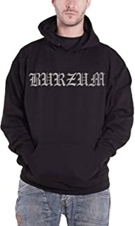 Burzum Hoodie Hvis Lyset Tar Oss Band Logo New Official Mens Black Pullover