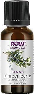 NOW Essential Oils, Juniper Berry Oil, Restoring Aromatherapy Scent, Steam Distilled, 100% Pure, Vegan, Child Resistant Ca...