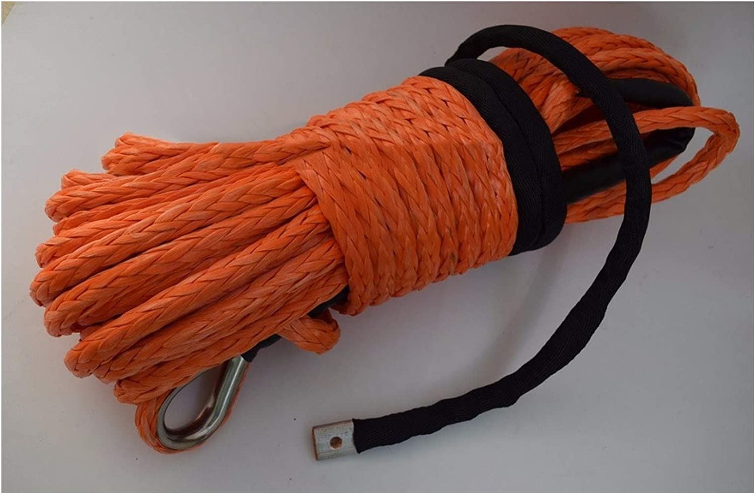 12mm30m Orange Synthetic Winch Rope Road With Thimble Inventory cleanup Max 53% OFF selling sale S Off