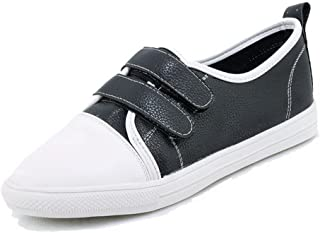Women's Low-Heels Assorted Color Hook-and-Loop Pumps-Shoes