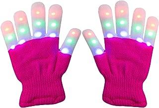 Viposoon Children LED Finger Light Gloves Cool Fun Toys for Kids - Best Gifts