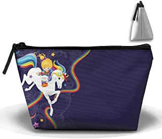 Portable Travel Rainbow Brite And Starlite Memories Storage Pouch Cosmetic Toiletry Bags Organizer Travel Accessories