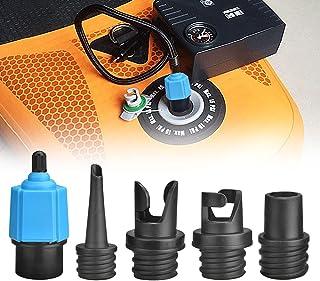FIGFYOU SUP Paddle Board pump adapter, multifunktion luftventiladapter med 4 st gasmunstycke standard konventionell pump a...