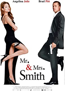 Mr And Mrs Smith Movie Poster 24in x36in