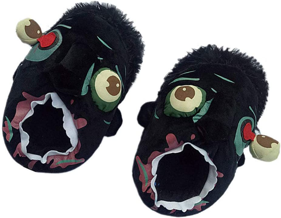 BESPORTBLE Be super welcome Award-winning store 1 Pair Halloween Funny Slippers Slipper Cartoo Zombie