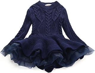 WEONEDREAM Girl Winter Long Sweater