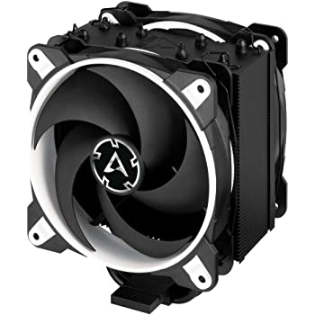 ARCTIC Freezer 34 eSports DUO - Tower CPU Cooler with BioniX P-Series case fan in push-pull, 120 mm PWM fan, for Intel and AMD socket - White