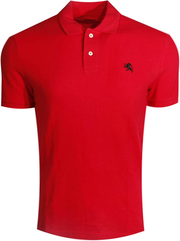 Express Mens Modern Fit Pique Polo Shirt