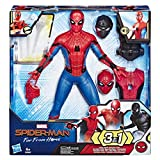 Marvel Spider-Man Far From Home - Figurine Electronique 3 en 1 - 33 cm - Parle en français - Jouet Spider-Man