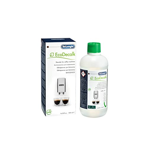 DeLonghi EcoDeCalk Natural Descaler for Coffee Machines, 16.90 oz