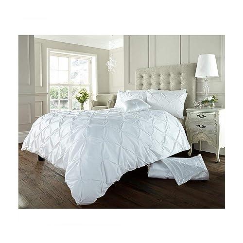 White King Size Duvet Cover Sets Amazoncouk
