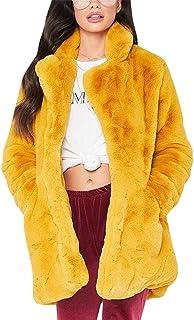 Amazon.es: abrigo amarillo - Ropa de abrigo / Mujer: Ropa