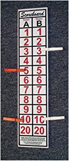 SCOREBOARD, Washers, Cornhole, Horseshoes, Bocce Ball -includes 4 Score clips