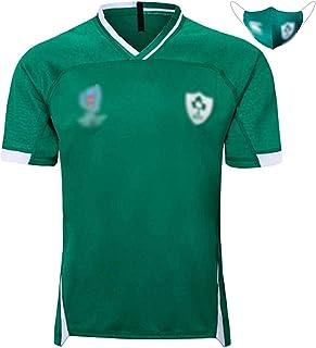 ラグビージャージ、2019ワールドカップラグビースポーツウェア、アイルランドワールドカップTシャツ、スポーツウェア L