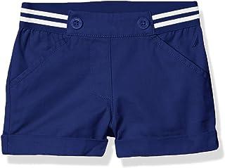 Nautica Girls' Solid Woven Short