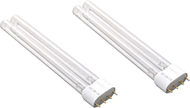 AQUANEAT 2 PCS 18W Watt UV Light Bulb 2G11 Base for Aquarium UVC Sterilizer